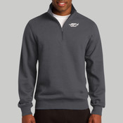 ST253.h.afb - 1/4 Zip Sweatshirt (Heather Colors)