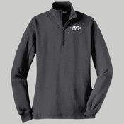 LST253.h.afb - Ladies 1/4 Zip Sweatshirt (Heather Colors)
