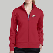 LST241 - Ladies Sport Wick ® Fleece Full Zip Jacket <125.131>