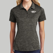 LST590.afb - ® Ladies PosiCharge ® Electric Heather Polo