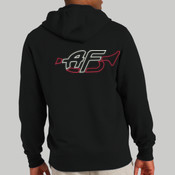 TST258 - Tall Full Zip Hooded Sweatshirt <> Embroidered (125.131)