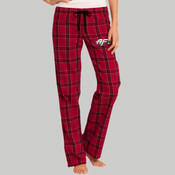 DT2800.afb - Juniors Flannel Plaid Pant